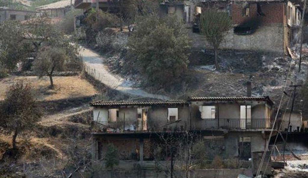 Σε ύφεση η πυρκαγιά στην Φρίξα Ηλείας | Pagenews.gr
