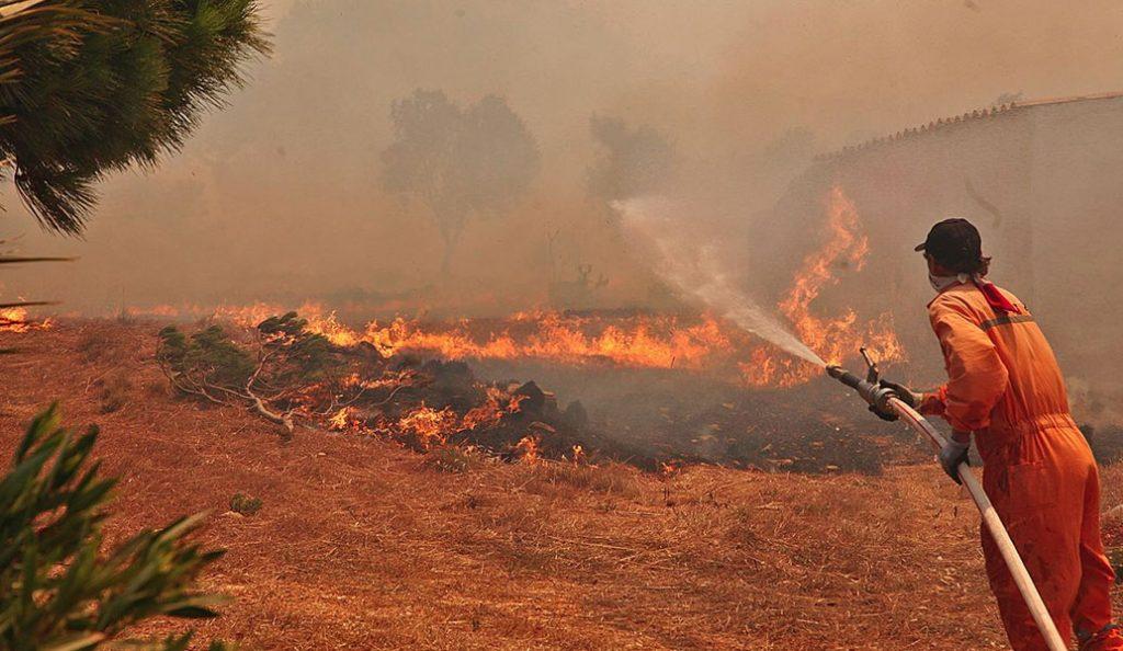 Nύχτα αγωνίας στη Ζάκυνθο – Συνεχίζεται η μάχη με τις φλόγες | Pagenews.gr
