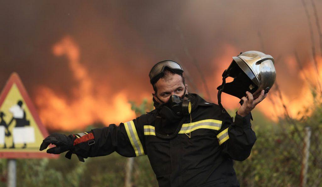 Κέρκυρα –  Πυρκαγιά : Υπό ύφεση η φωτιά στην περιοχή Χαλικούνα | Pagenews.gr