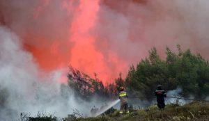 Φωτιά τώρα: Συνεχίζει να καίγεται η Βιστωνίδα – Οριοθετήθηκε η πυρκαγιά | Pagenews.gr
