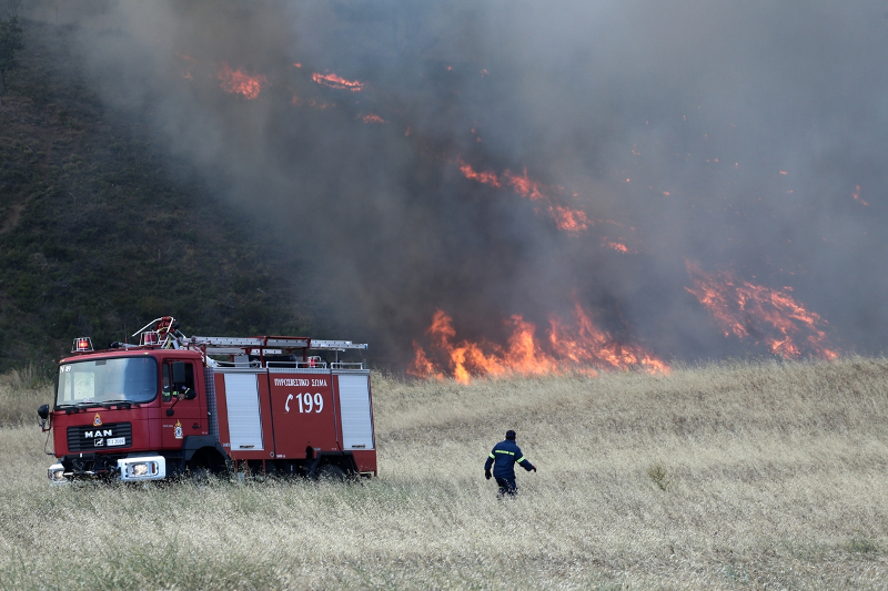 Φωτιά: Υψηλός και σήμερα ο κίνδυνος πυρκαγιάς   Pagenews.gr