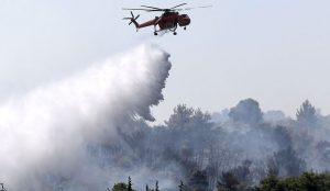 Φωτιά τώρα: Καίει πευκοδάσος στο Αγκίστρι (vid) | Pagenews.gr