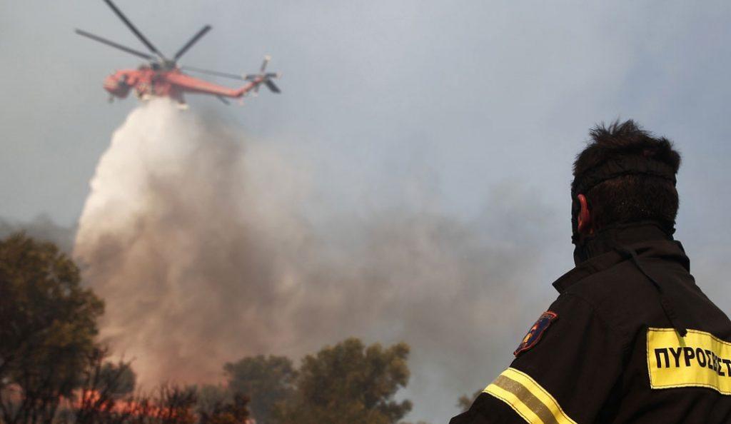 Φωτιά στη Ζάκυνθο: Σε πλήρη εξέλιξη | Pagenews.gr