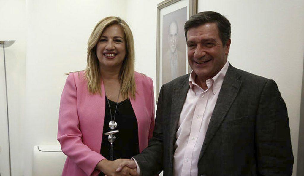 Σε καλό κλίμα η συνάντηση Γεννηματά – Καμίνη   Pagenews.gr