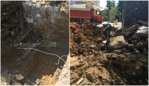 «Ανθρακες ο… θησαυρός» στην Τρίπολη: Βρήκαν μόνο ένα… καζανάκι (pics) | Pagenews.gr