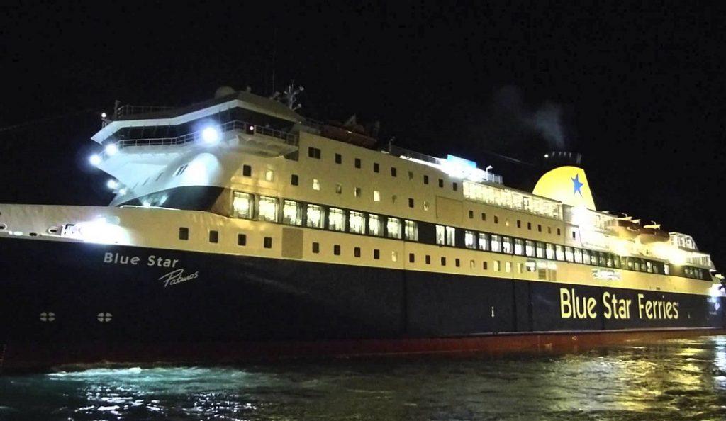 Blue Star Patmos: Μεγάλη ζημιά στο πλοίο – Δεν μπορεί να ρυμουλκηθεί | Pagenews.gr