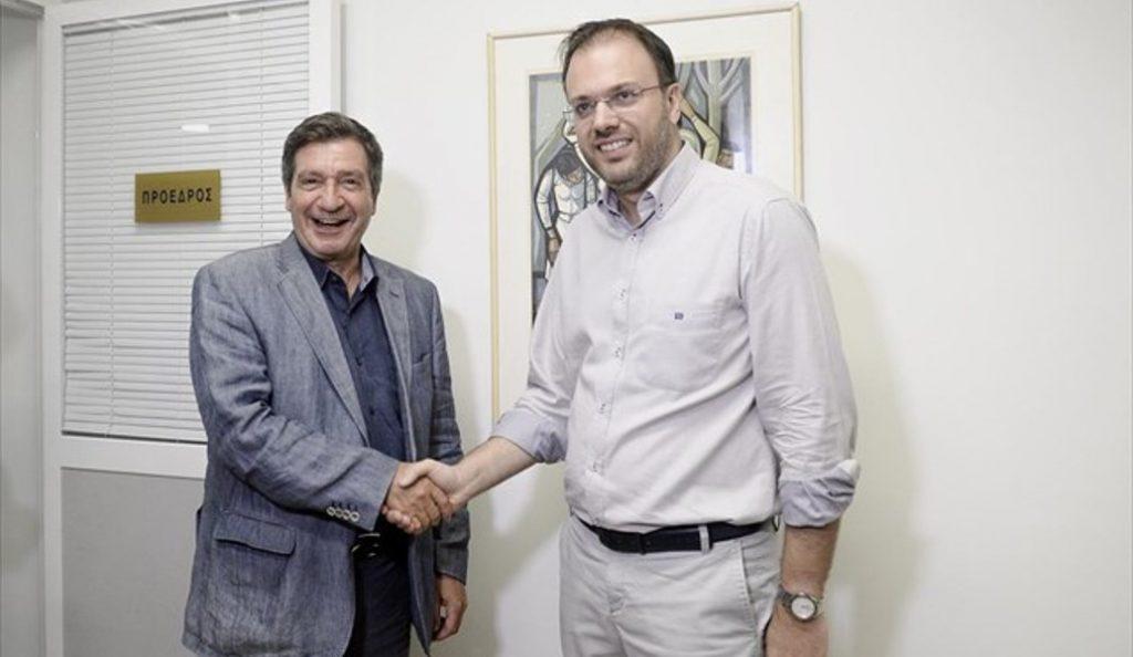 Συνάντηση Θεοχαρόπουλου – Καμίνη για τις διεργασίες στην Κεντροαριστερά   Pagenews.gr