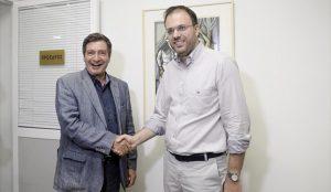 Συνάντηση Θεοχαρόπουλου – Καμίνη για τις διεργασίες στην Κεντροαριστερά | Pagenews.gr