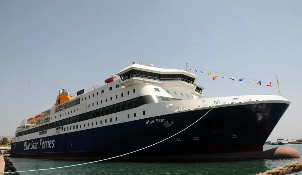 Blue Star Patmos: Νέες προσπάθειες σήμερα να το αποκολλήσουν από την ξέρα στην Ίο | Pagenews.gr