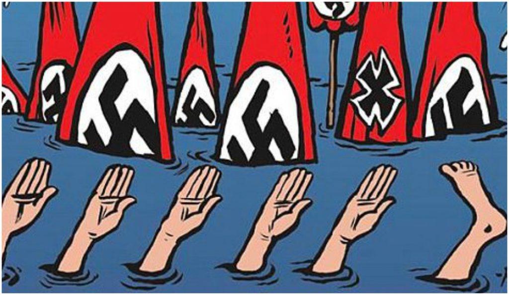 Charlie Hebdo: Ο Θεός υπάρχει: Επνιξε τους νεοναζί στο Τέξας! (pic) | Pagenews.gr