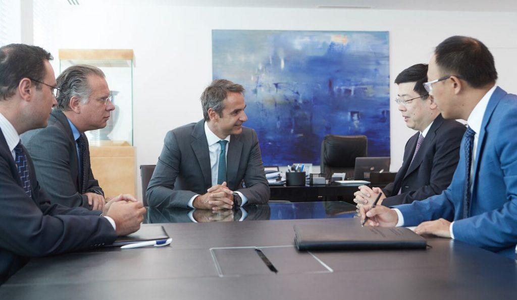 Συνάντηση Μητσοτάκη με τον Κινέζο πρέσβη – Συζήτησαν ανάπτυξη και επενδύσεις   Pagenews.gr