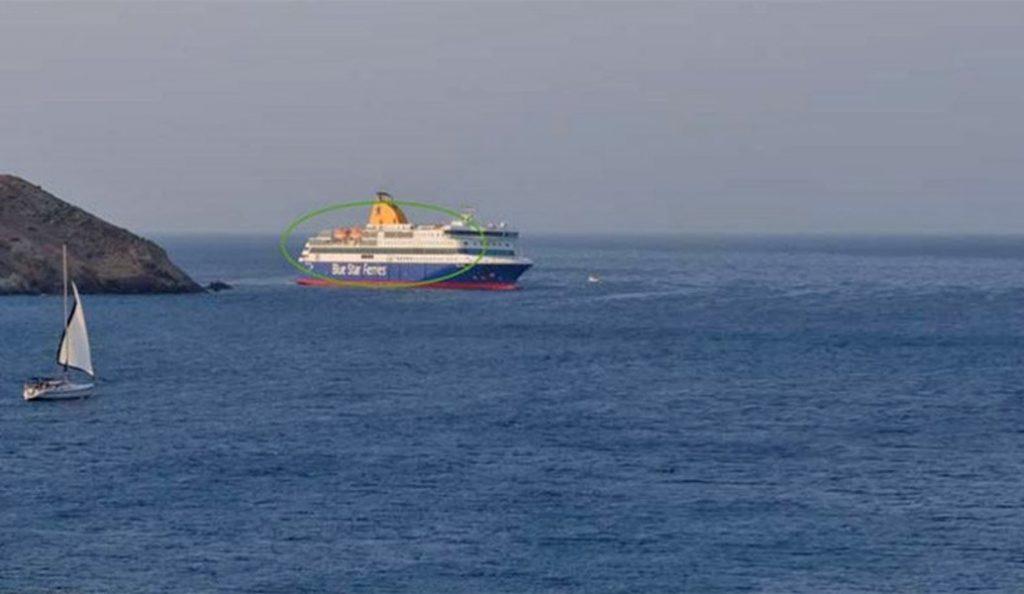 Blue Star Patmos: Συνεχίζονται οι προσπάθειες αποκόλλησης | Pagenews.gr
