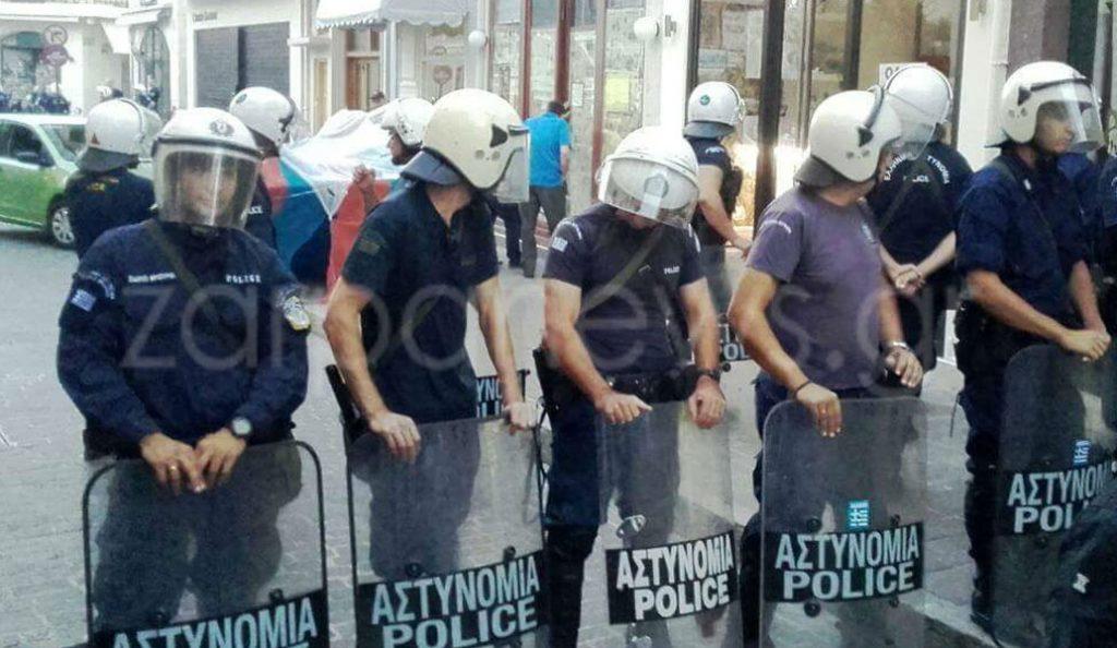 Κρήτη: Επεισόδια κατά την κατάσχεση καταστήματος στο Ρέθυμνο από ξένο Fund (vid) | Pagenews.gr