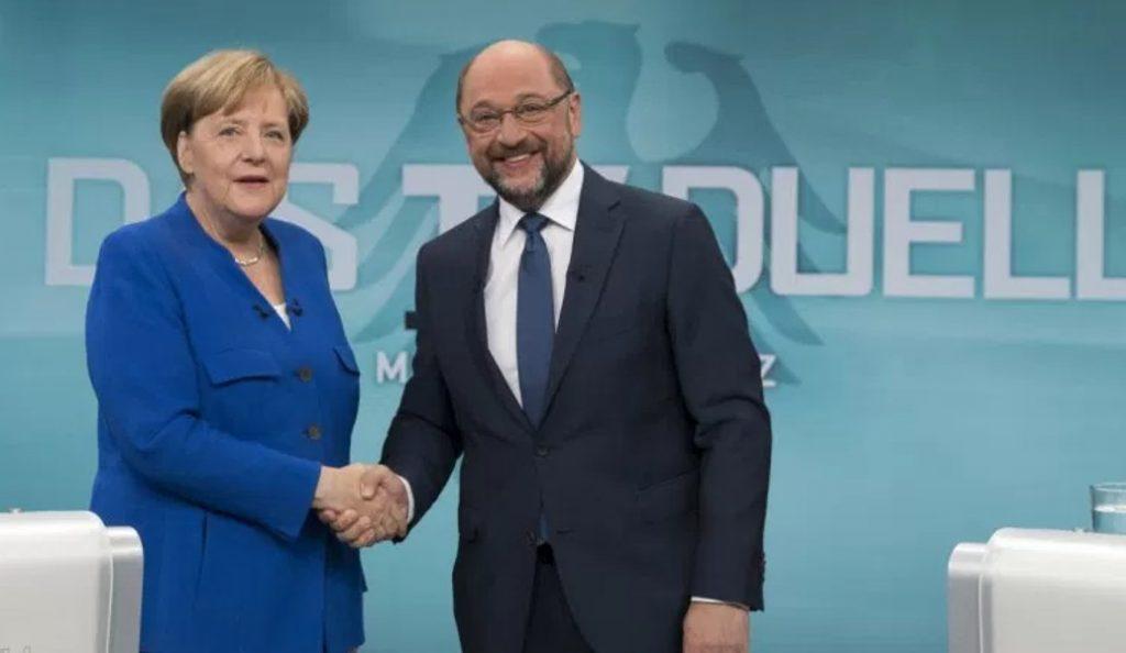 Μέρκελ – Σουλτς: Νικήτρια της τηλεμαχίας η Γερμανίδα καγκελάριος | Pagenews.gr