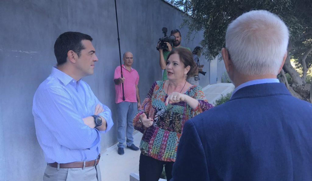 Αλέξης Τσίπρας: Τα παραλειπόμενα της επίσκεψής του στην Apivita | Pagenews.gr