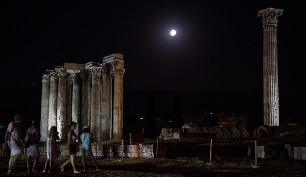 Πανσέληνος: Θα την απολαύσουμε με μουσική στους Στύλους του Ολυμπίου Διός | Pagenews.gr