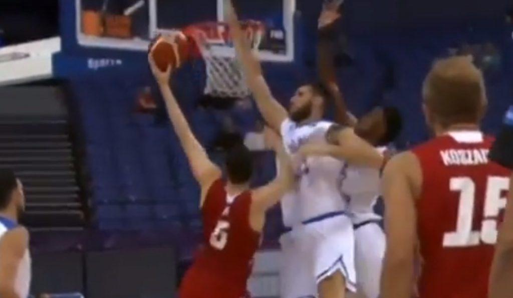 Εθνική Ελλάδος μπάσκετ – Γιώργος Παπαγιάννης: Δείτε την τρομερή του τάπα (vid) | Pagenews.gr