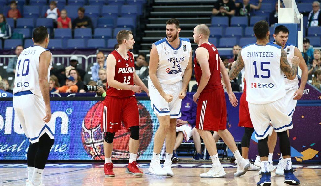 Ελλάδα – Πολωνία – Ευρωμπάσκετ 2017: Τα στιγμιότυπα της νίκης – πρόκρισης της Εθνικής Ελλάδος μπάσκετ (vid) | Pagenews.gr