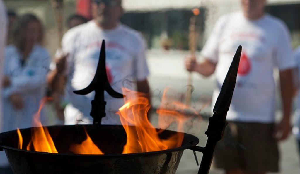 Φλόγα Αγάπης: 15η πανελλήνια λαμπαδηδρομία στη Θεσσαλονίκη | Pagenews.gr
