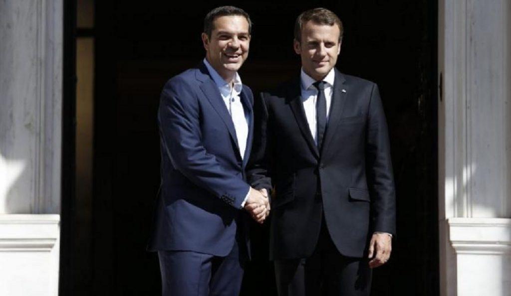 Επίσκεψη Εμανουέλ Μακρόν: Στον Τσίπρα αυτή την ώρα | Pagenews.gr