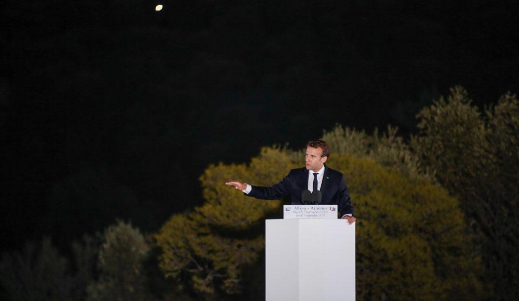 Εμανουέλ Μακρόν από την Πνύκα: Αυτή η Ευρώπη πρέπει να αλλάξει   Pagenews.gr