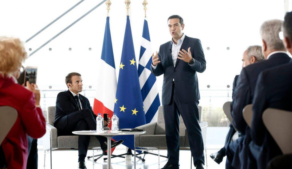 Εμανουέλ Μακρόν σε Αλέξη Τσίπρα: Οι γαλλικές επιχειρήσεις ήταν, είναι και θα είναι στην Ελλάδα | Pagenews.gr