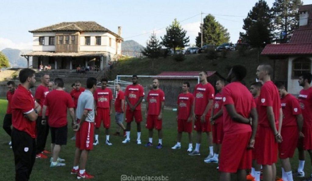 Ολυμπιακός: Συνεχίζεται το τρέξιμο στο Μέτσοβο (pics)   Pagenews.gr