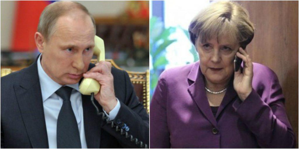 Γερμανικές εκλογές: Τηλεφωνική συνομιλία Βλαντιμίρ Πούτιν – Άγκελα Μέρκελ | Pagenews.gr