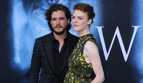 Game of Thrones: Ο Kιτ Χάρινγκτον και η Ρόουζ Λέσλι παντρεύονται   Pagenews.gr