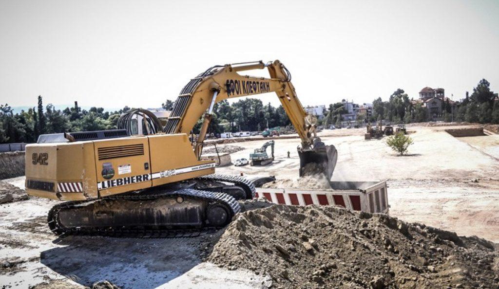Νέο βίντεο από τις εργασίες στη Νέα Φιλαδέλφεια (vid) | Pagenews.gr