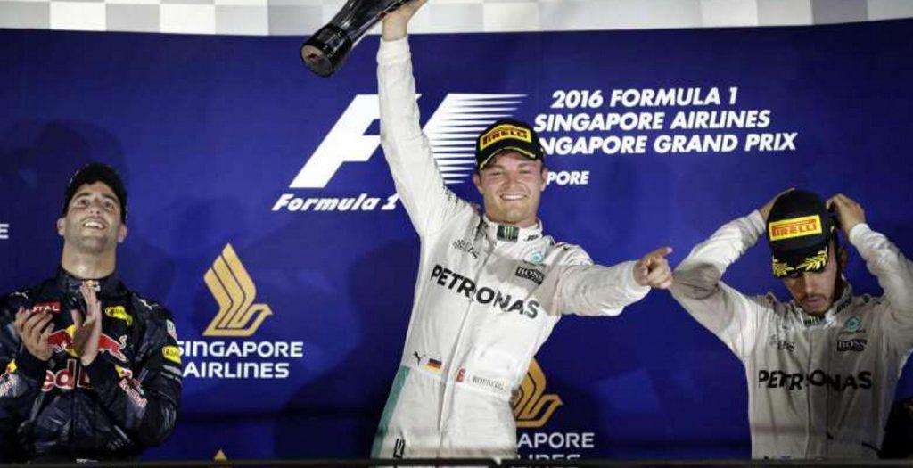GP Σιγκαπούρης: Τρίτη συνεχόμενη νίκη για το Rosberg   Pagenews.gr