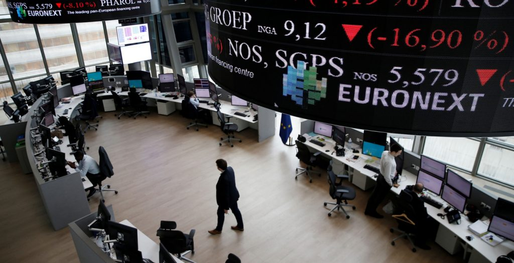 Πτώση στις ευρωαγορές, υπό το βάρος του κλίματος στην Wall Street | Pagenews.gr