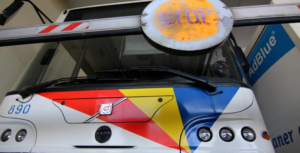 Φωτιά σε λεωφορείο του ΟΑΣΘ – Σώοι οι επιβάτες | Pagenews.gr