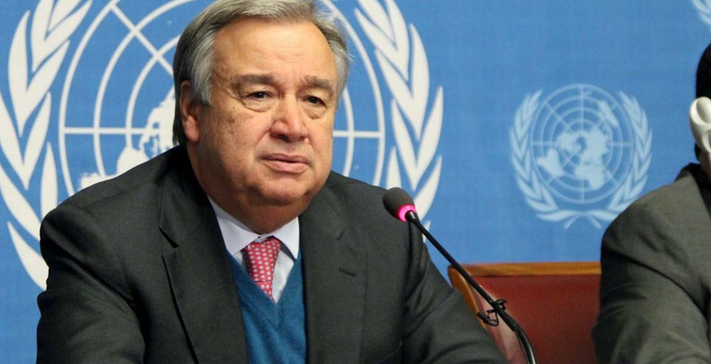 Ο Αντόνιο Γκουτέρες εκφράζει την ετοιμότητα του ΟΗΕ να βοηθήσει στο Κυπριακό | Pagenews.gr