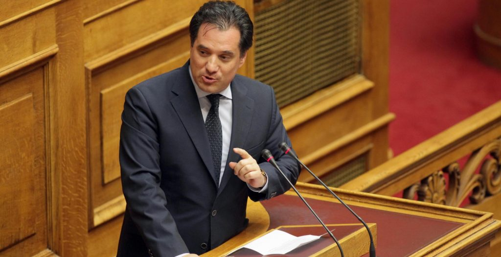 Άδωνις Γεωργιάδης: Οι Συριζαίοι μου πετάνε λάσπες και οι αντιεξουσιαστές βόμβες | Pagenews.gr