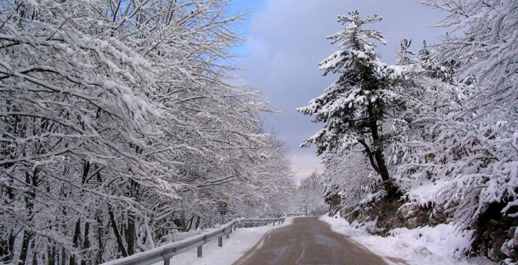 Χιονισμένο τοπίο στο Ασβεστοχώρι | Pagenews.gr