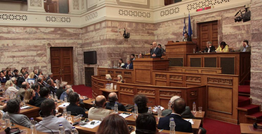 Εν μέσω εντάσεων στη Βουλή προχωρά το ν/σ για για την οικονομική δραστηριότητα   Pagenews.gr