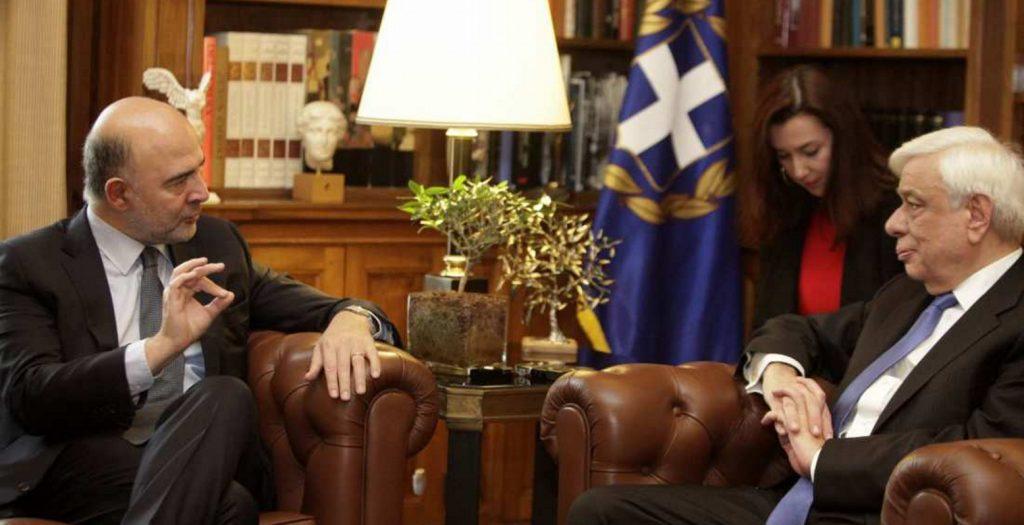 Μοσκοβισί: Τώρα είναι η ώρα για το χρέος, γι΄αυτό είμαι εδώ | Pagenews.gr