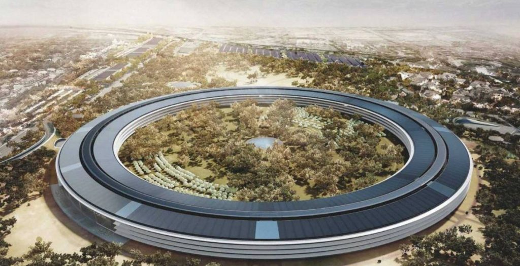 «Apple Campus»: Εντυπωσιακές λήψεις από drone (video) | Pagenews.gr