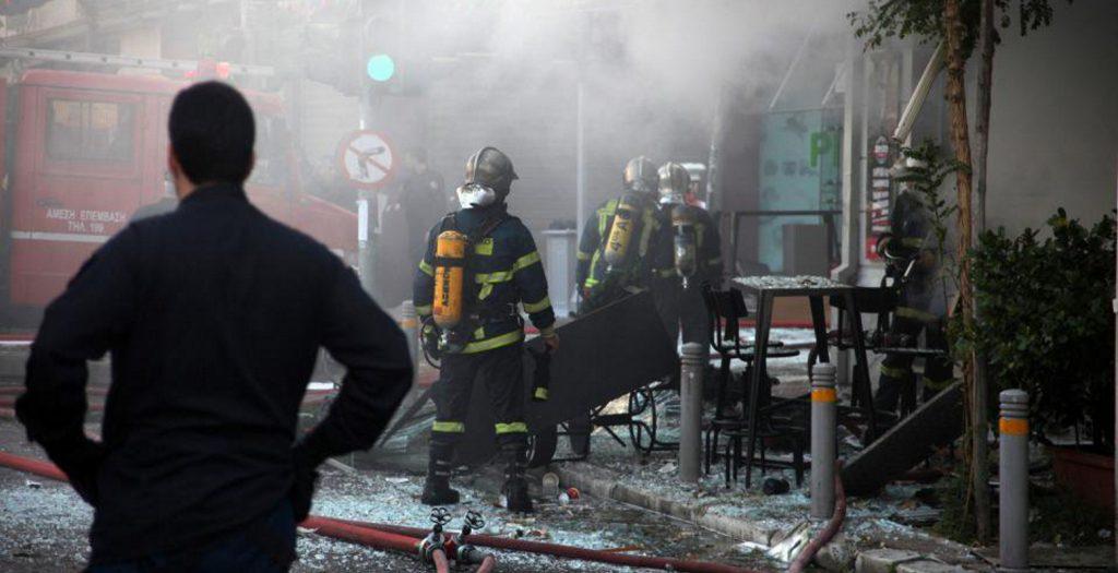 Φονική έκρηξη με μία νεκρή και έξι τραυματίες στα Everest στην Πλατεία Βικτωρίας   Pagenews.gr