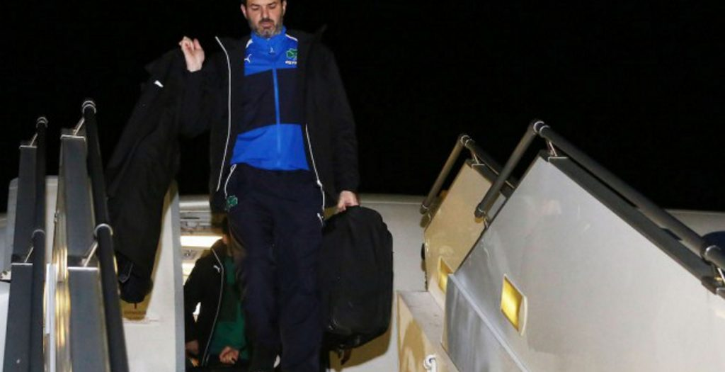 Οπαδοί και στην άφιξη του Παναθηναϊκού στο αεροδρόμιο!   Pagenews.gr