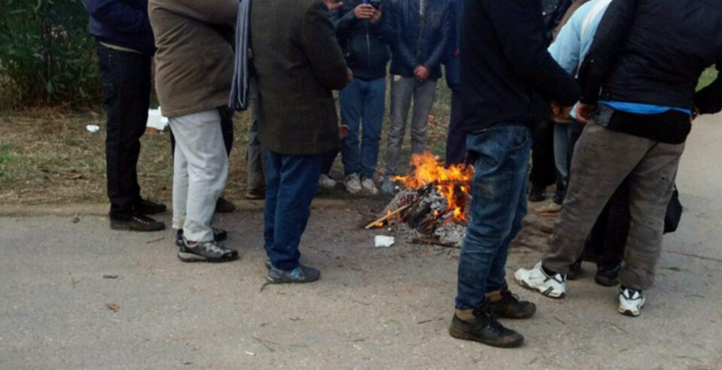 Θεσσαλονίκη: Εληξε η διαμαρτυρία έξω από το κέντρο φιλοξενίας προσφύγων | Pagenews.gr