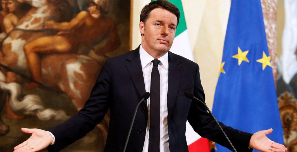 Εγκαταλείπει την εξουσία ο Ρέντσι μετά την πανωλεθρία στο δημοψήφισμα | Pagenews.gr