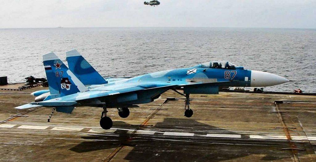 Συντριβή ρωσικού μαχητικού αεροσκάφους στη Μεσόγειο | Pagenews.gr