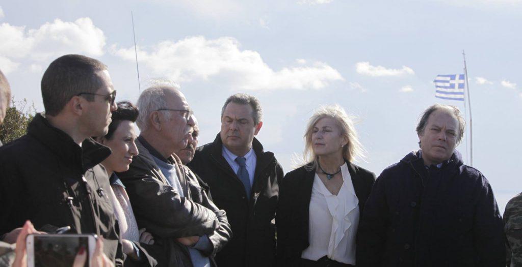 «Κατηγορώ» αντιπολίτευσης για την παρουσία ΣΥΡΙΖΑ – ΑΝΕΛ και Χ.Α. στο Καστελορίζο | Pagenews.gr