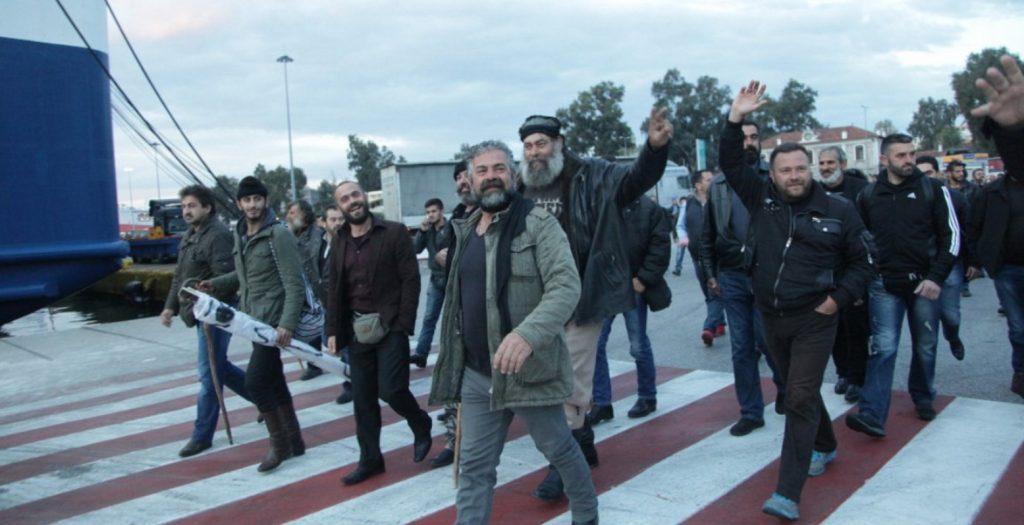 Ηράκλειο: Αποχώρηση των αγροτών από το λιμάνι | Pagenews.gr