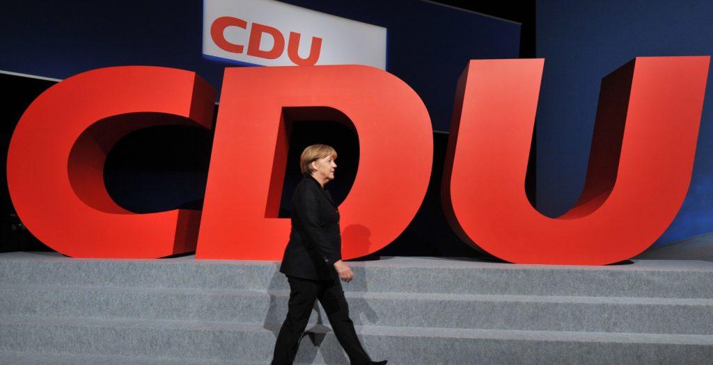 Και πάλι στο «τιμόνι» του CDU η Μέρκελ | Pagenews.gr