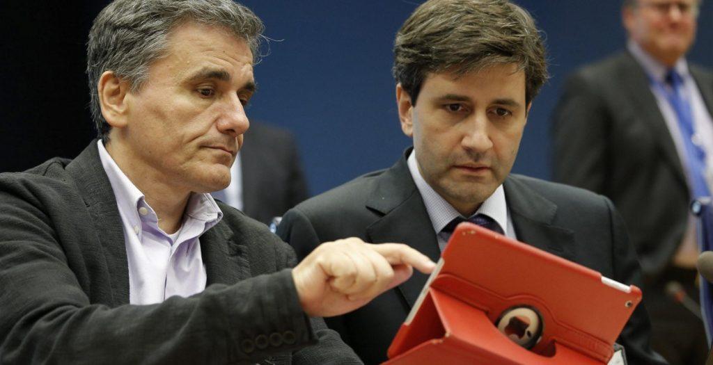 Βρυξέλλες: Συνάντηση Δραγασάκη, Τσακαλώτου, Χουλιαράκη με Ντράγκι | Pagenews.gr