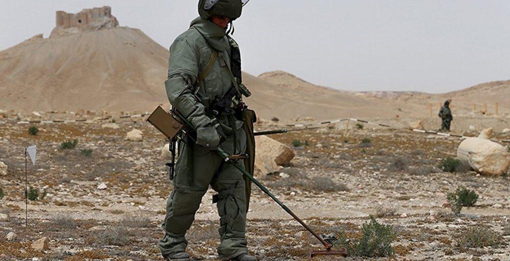 Πάνω από 14.000 νάρκες εξουδετέρωσαν οι Ρώσοι στο Χαλέπι | Pagenews.gr
