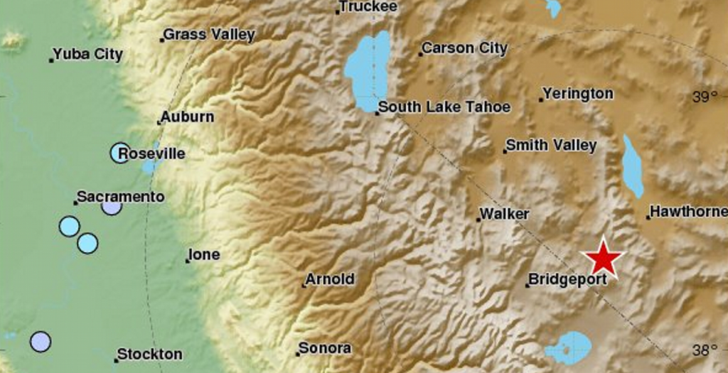 ΗΠΑ: Σεισμός 5,7 Ρίχτερ στη Νεβάδα | Pagenews.gr